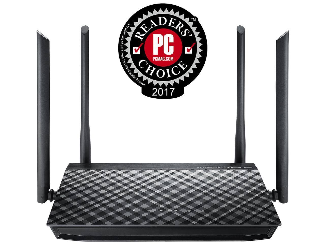 ASUS RT-AC1200G AC1200 Dual-Band Wi-Fi Router - $49.99 AC