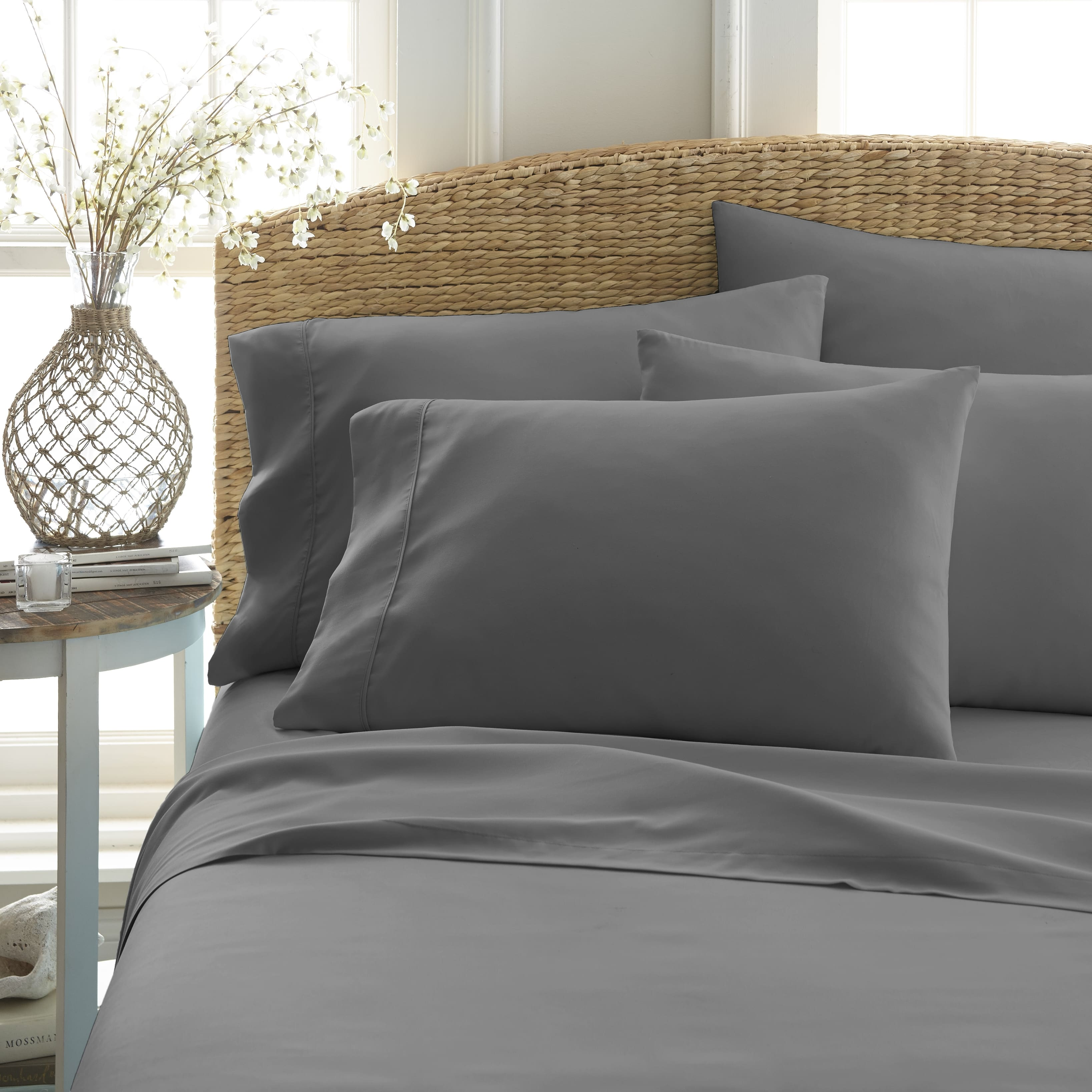 Linens & Hutch 6-Piece Solid Sheet Set- Starting at $18.63 + FS