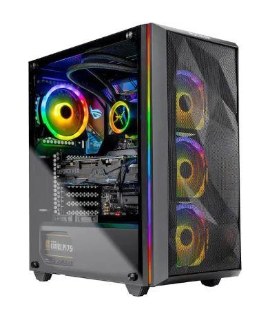 Skytech Chronos Gaming PC Desktop - AMD Ryzen 9 3900X, Asus ROG Strix RTX 2080 Ti 11GB, 16GB G.SKILL Neo RGB (2x 8GB), 1TB HP EX950 NVMe SSD, Asus AMD $2323 AC + FS