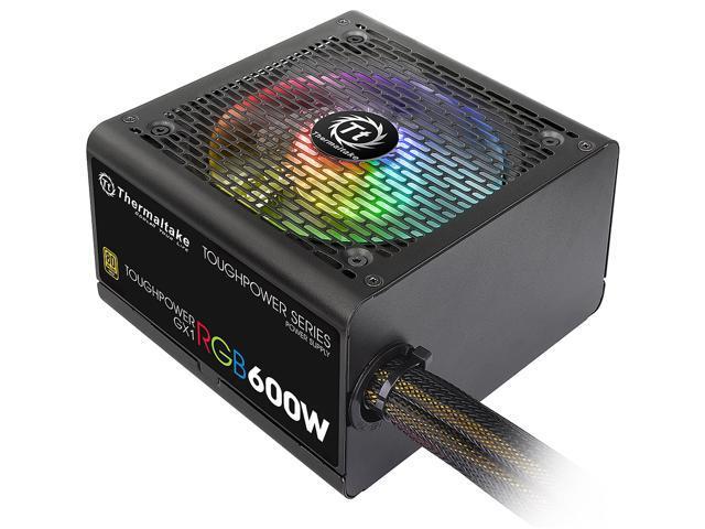 Thermaltake Toughpower GX1 RGB 600W Power Supply - $49.99 AR + FS