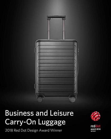 NinetyGo Lightweight Hardshell Suitcase with Brake System $89.99