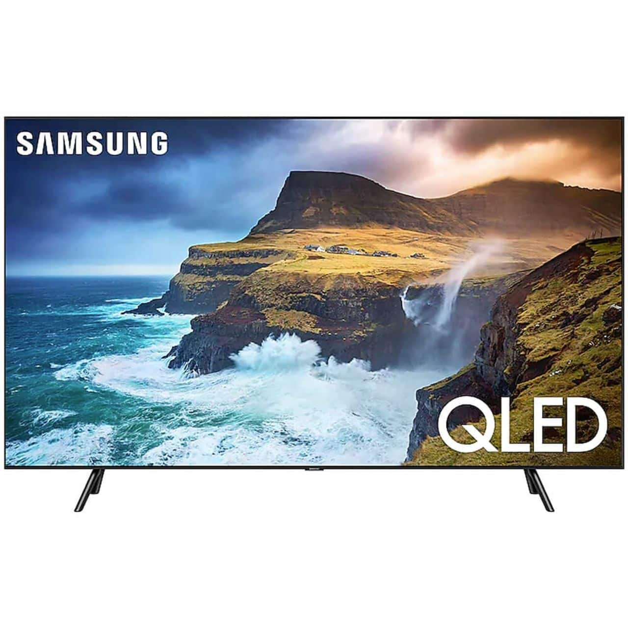 "Samsung 75"" Class Q70 Series 4K UHD QLED Smart TV (2019 Model) QN75Q70RAFXZA – $1699 + Free Shipping"