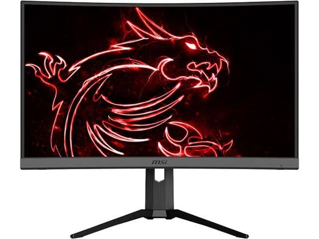 "MSI Optix MAG272CR 27"" 1920 x 1080 1ms 165 Hz Curved Gaming Monitor - $229.99 + FS"