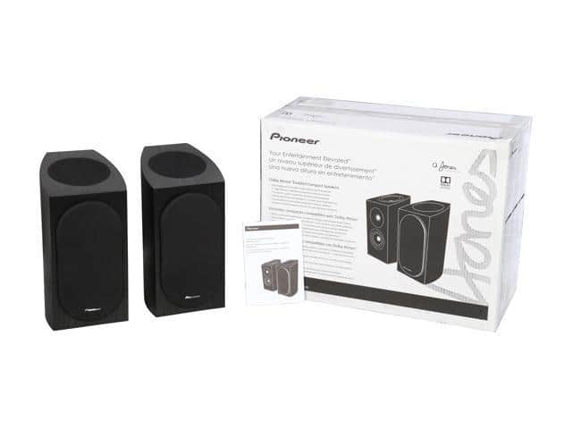 Pioneer SP-BS22A-LR Dolby Atmos Speakers (Used-Like New) $129 Shipped