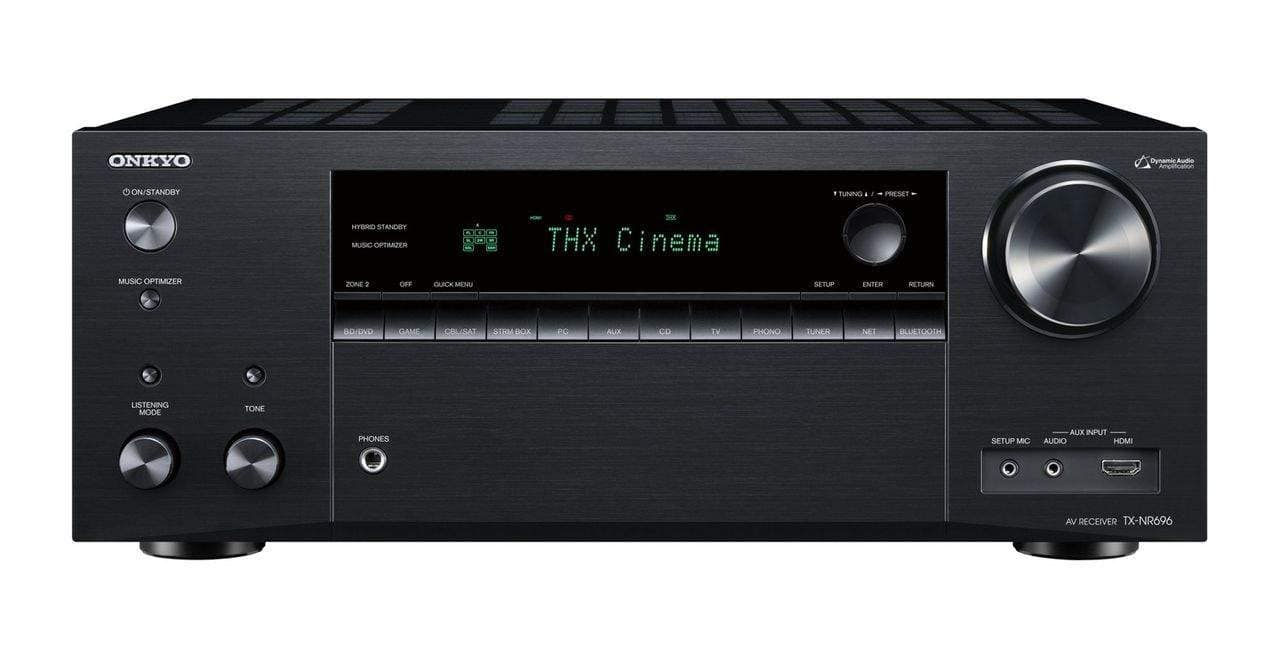 Onkyo 7.2-Channel Network A/V Receiver TX-NR696 – $389 + Free Shipping