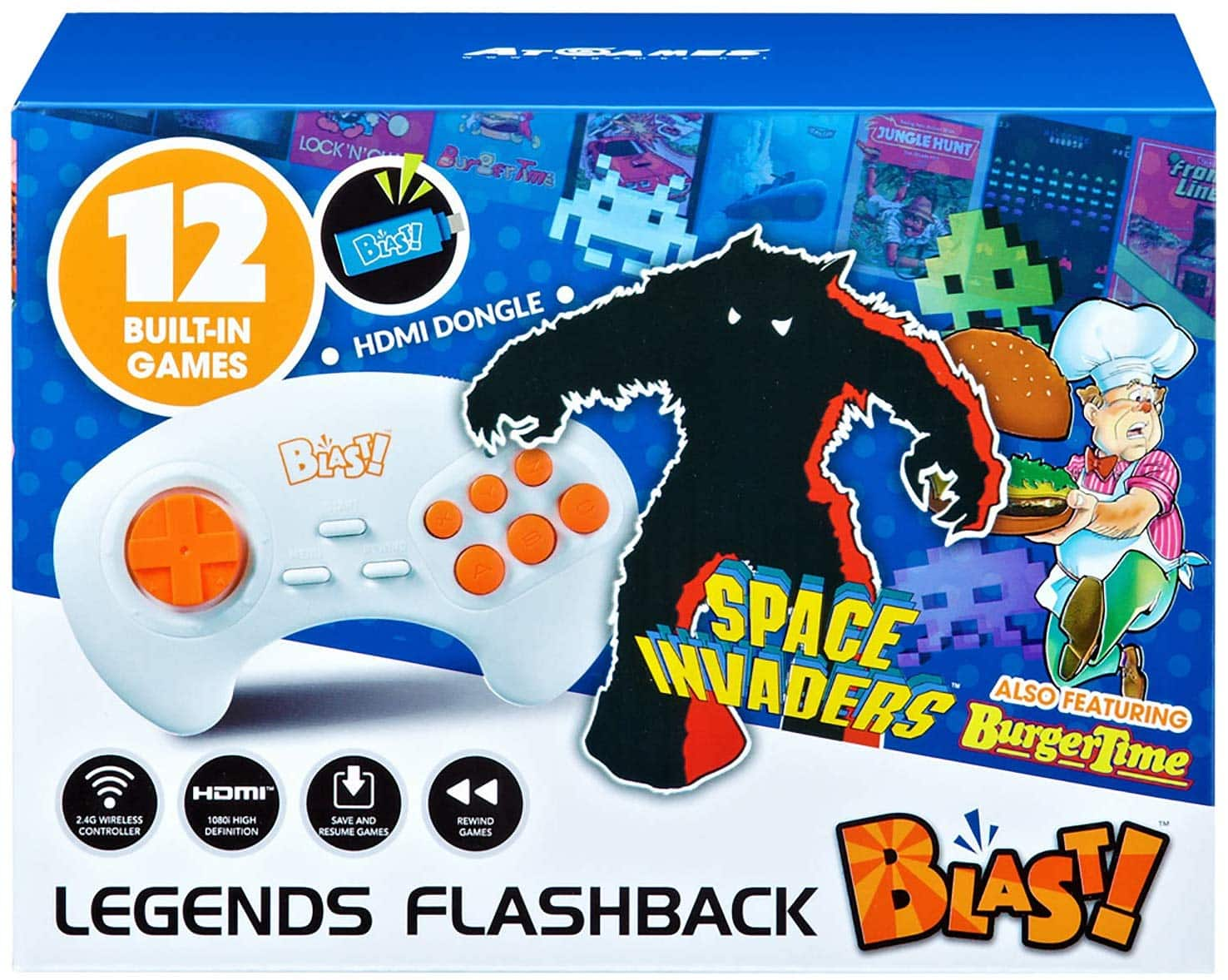 Legends Flashback Blast! Space Invaders Retro Gaming for $5.99 + Free Store Pickup!