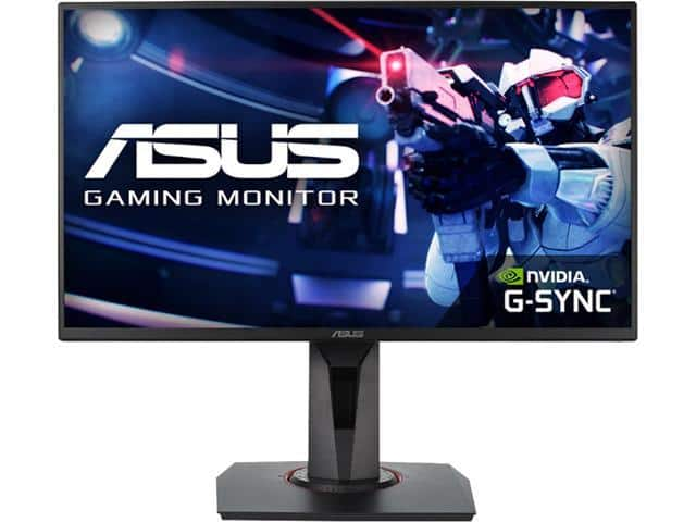 "ASUS VG258Q 24.5"" Full HD 1080p 144Hz Gaming Monitor - $199.99"