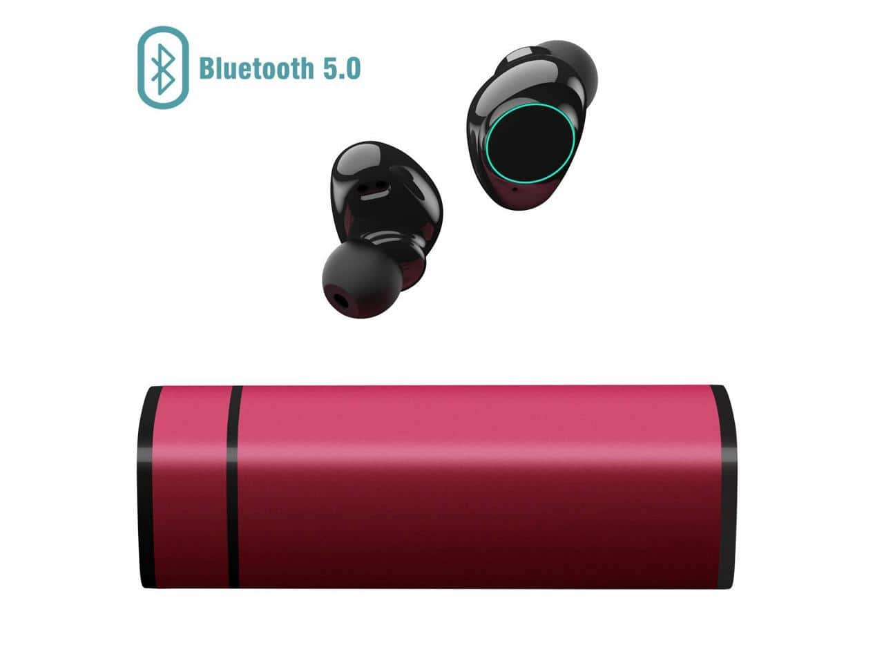 Muzili Sports Series y9-tarnish Smallest In-Ear Bluetooth Earbuds Noise Cancelling Headset with Charging Box - $14.99 + FS