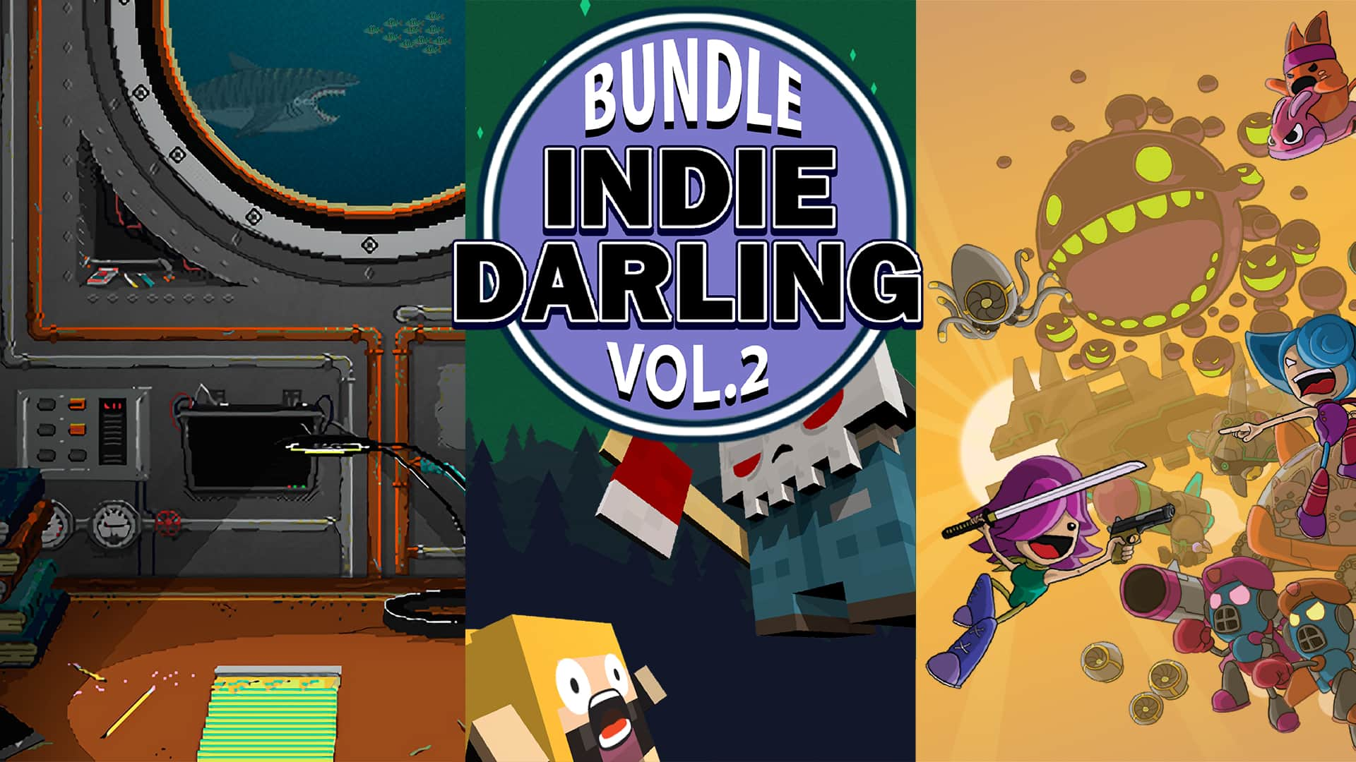 Nintendo Switch eShop: Indie Darling Bundle Vol 2 for $6.99 (80% OFF)