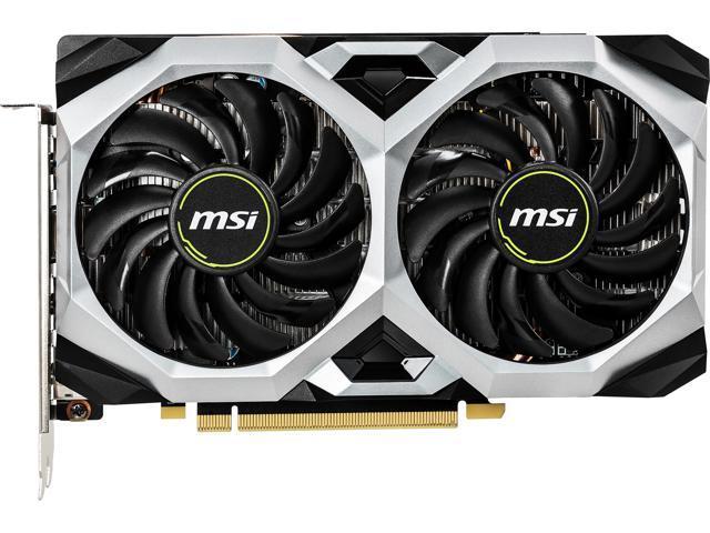 MSI GeForce GTX 1660 TI VENTUS XS 6G OC Graphics Card - $254.99 AC & AR + FS
