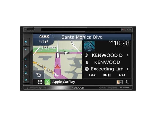 "Kenwood DNX696S 6.8"" CD/DVD Touchscreen Receiver - $499"