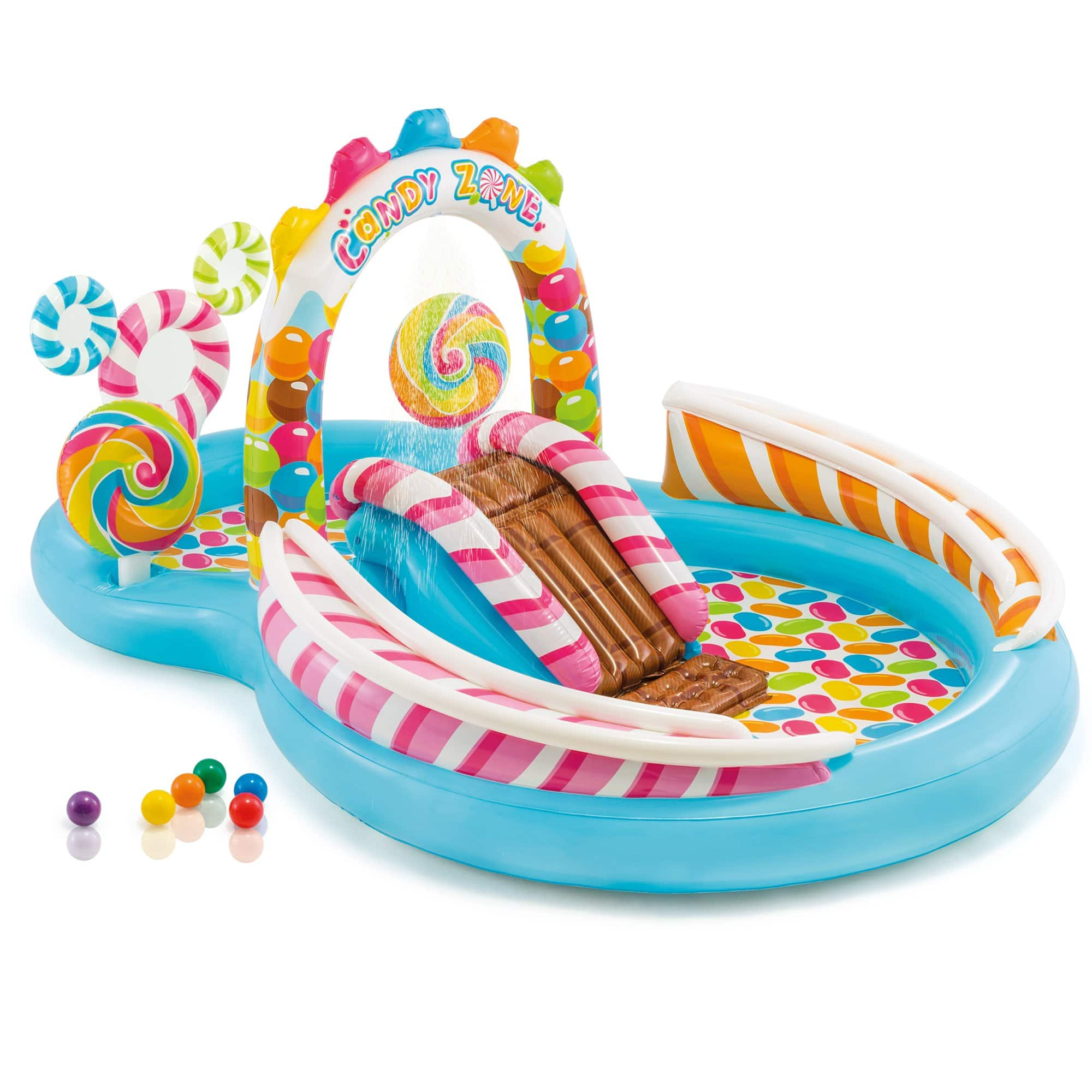 Intex Kids Inflatable Candy Zone Play Center Kids Slash Pool for $37.49 + FS