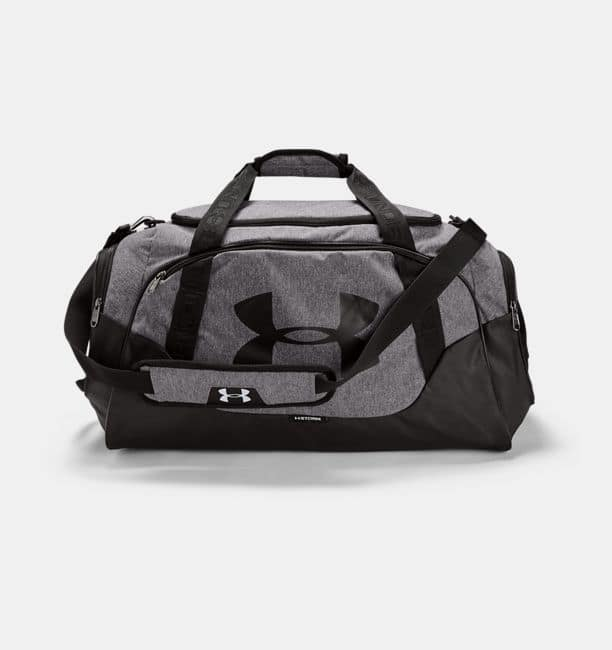Under Armour Undeniable 3.0 Duffle Bag Graphite / Black for $26.99 Shipped!