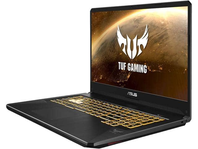 "ASUS TUF Gaming TUF705DU-KH74 17.3"" 16GB DDR4 RAM 512GB SSD Gaming Laptop - $989.99 + FS"