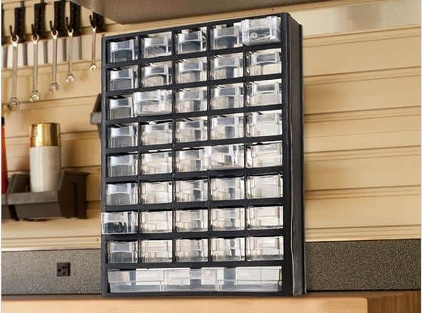 Stalwart 41 Compartment Hardware Storage Box for $21.99 + Free Ship w/ Prime