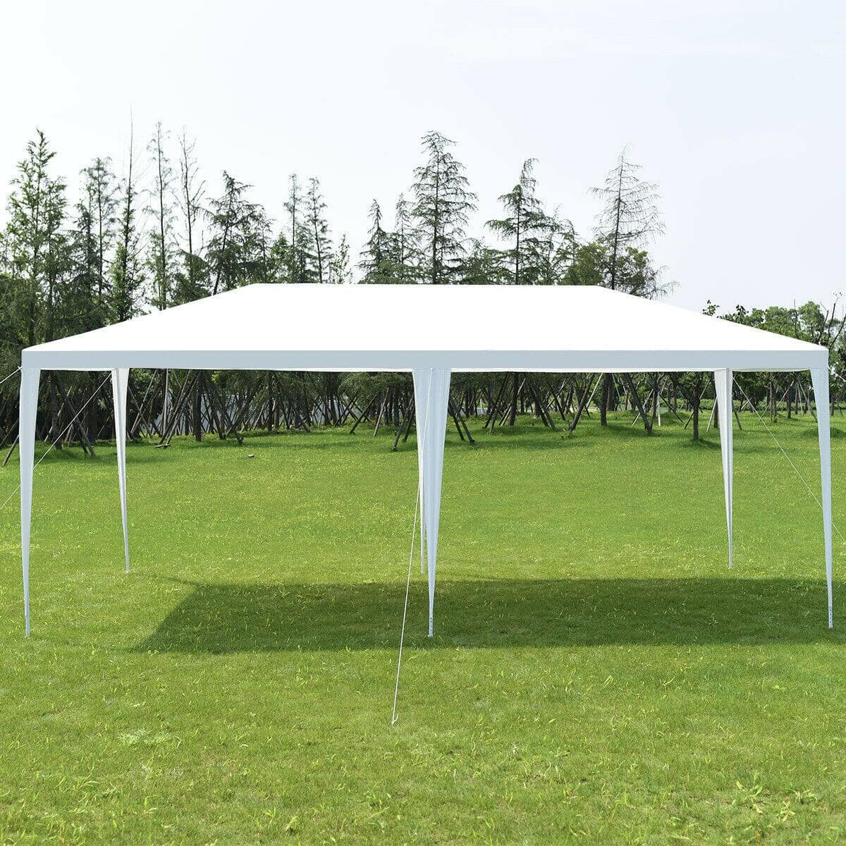 Costway 10' x 20' Outdoor Party Wedding Canopy Gazebo Pavilion Event Tent for $58.95 + Free Shipping