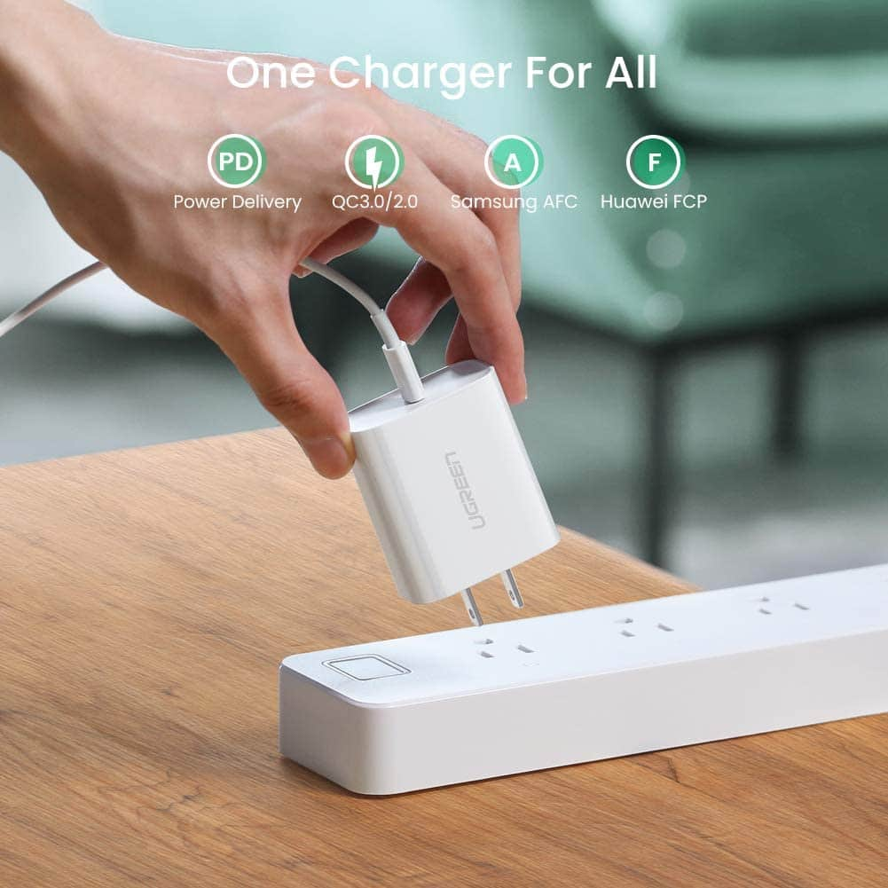 UGREEN USB-C 30W PD 3.0 Wall Charger for $11.99 & More + FSSS