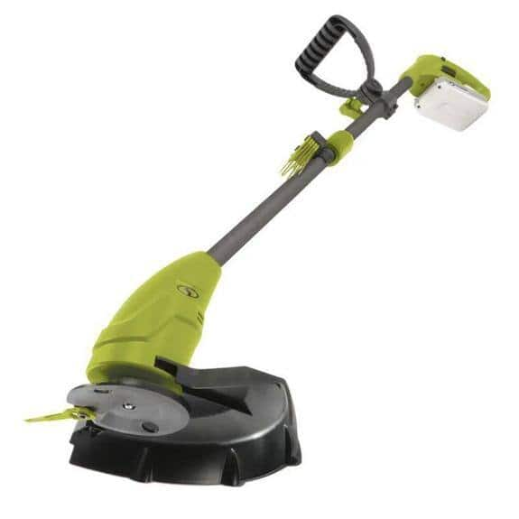 "Sun Joe 24-Volt iON+ Cordless Lightweight Stringless Grass Trimmer Kit, 10"" $63.99 + FS"