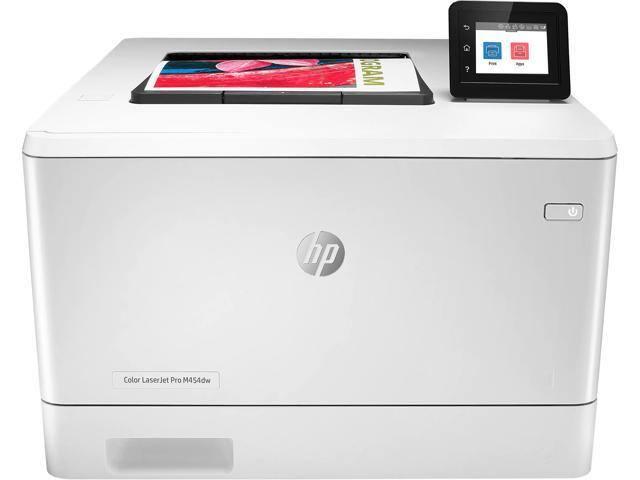 HP LaserJet Pro M454dw Auto Duplex Wireless Color Laser Printer - $279.00 + FS