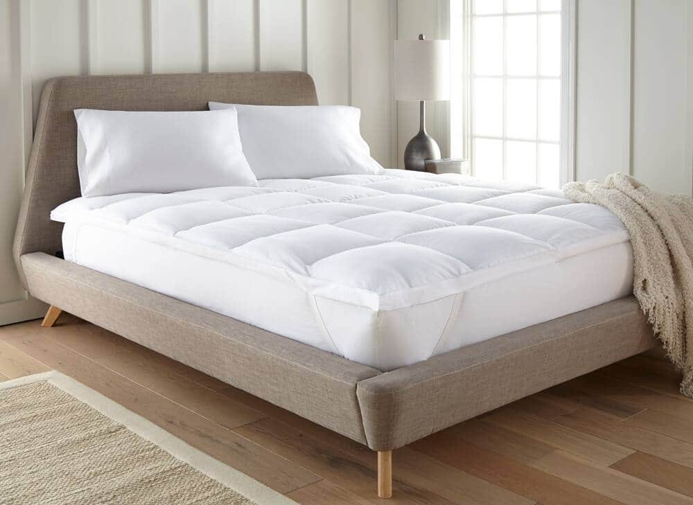 Linens & Hutch Overfilled Plush Microfiber Mattress Topper from $40.25 + Free Shipping