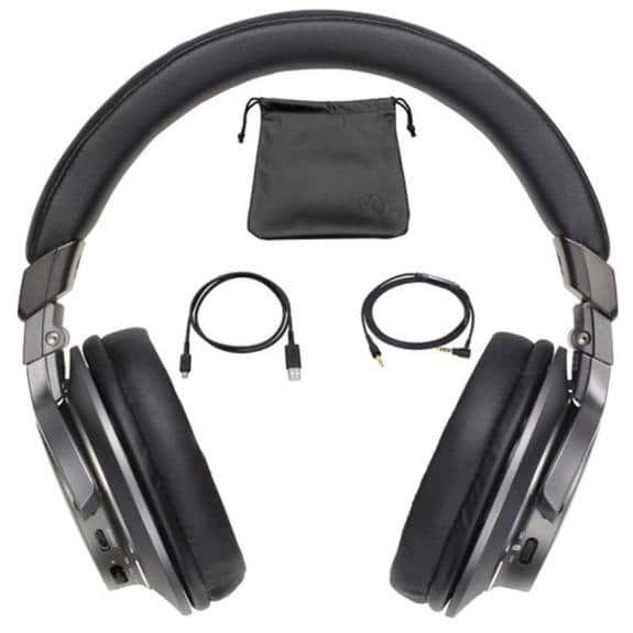 Audio-Technica Bluetooth Wireless Over-Ear Headphones with Mic & Control  $73.99 + FS