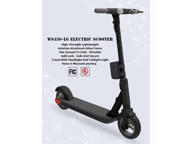 AEST 450W Motor Propels Electric Scooter 25 Miles Long Range Battery for $339.99 + Free Shipping