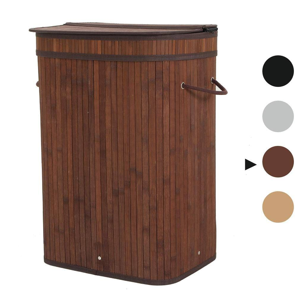 Sophia and William 72L Clothes Bamboo Laundry Basket for $23.99 + Free Shipping