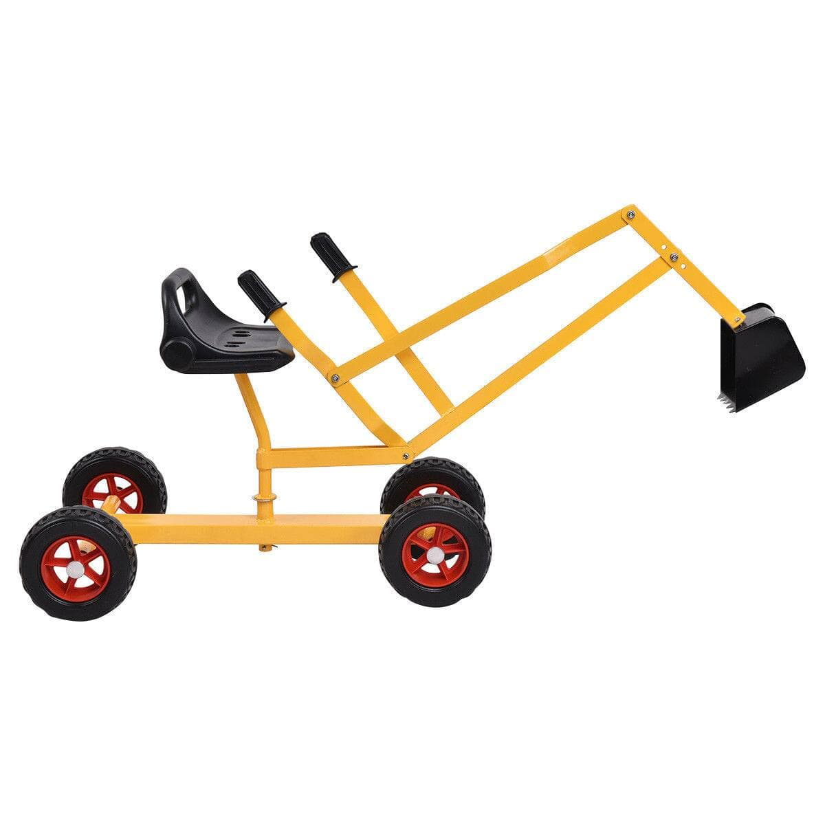 Costway Kid Ride-on 4-Wheel Excavator Sand Digger for $50.95 + Free Shipping