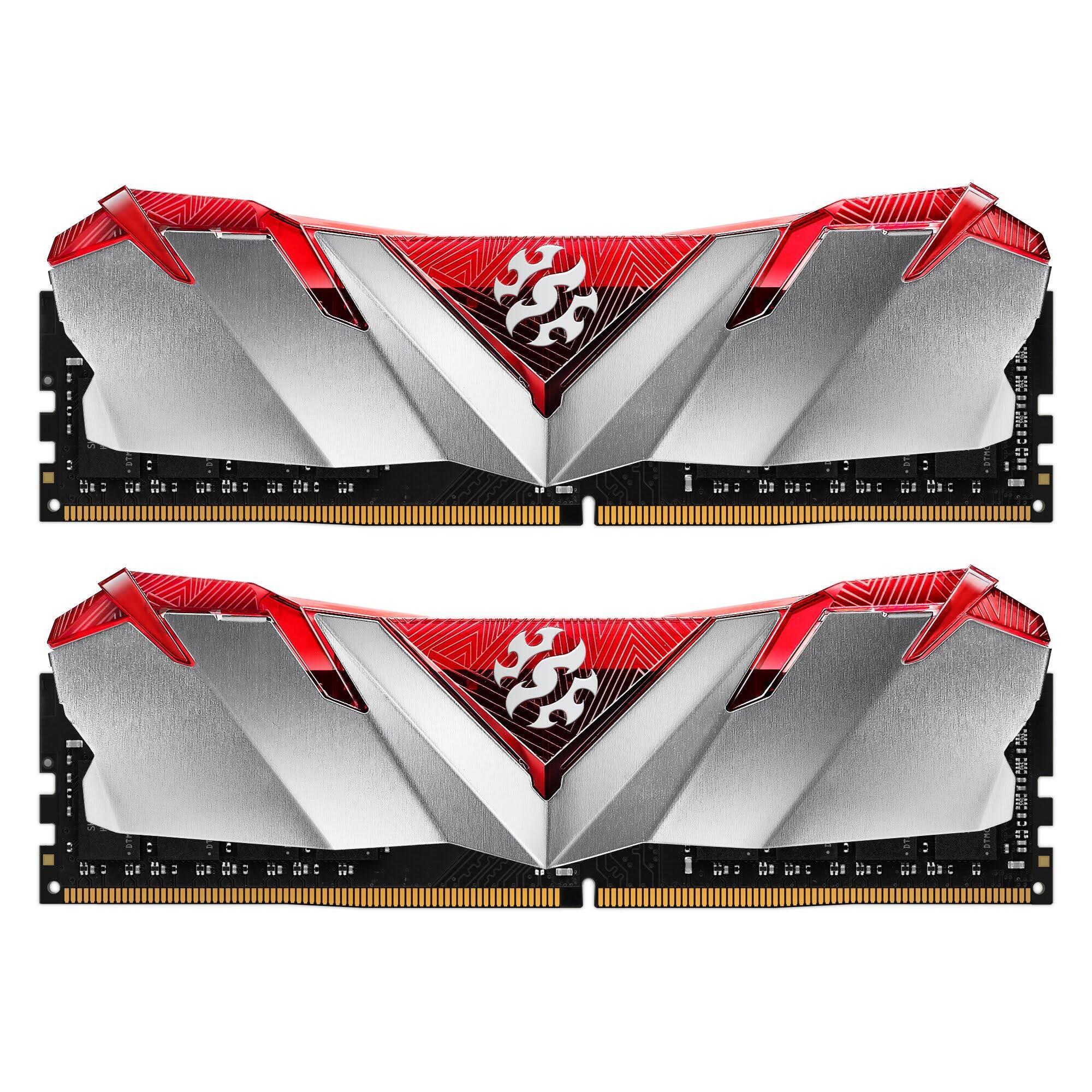 XPG GAMMIX D30 Gaming Memory: 16GB (2x8GB) DDR4 3000MHz CL16 Red or Black $55 + FS