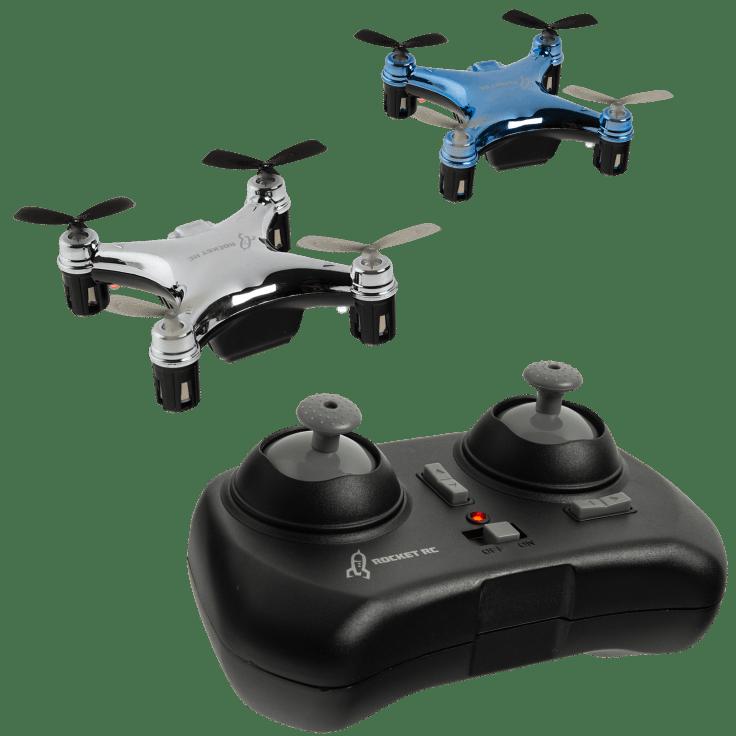 2-Pack Rocket RC Micro Drones $15