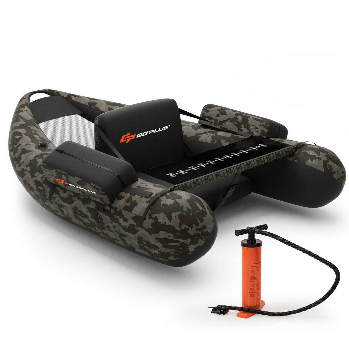 Costway Inflatable Fishing Float with Adjustable Straps & Storage Pockets-$129.95 + Free Shipping