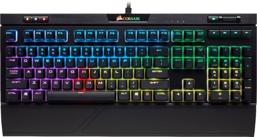 CORSAIR STRAFE RGB MK.2 MX Silent Mechanical Keyboard (Black) - $99.99 + FS