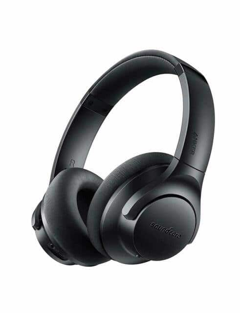 Soundcore Life 2 Active Noise Cancelling Over-Ear Wireless Headphones Hi-Res Audio 30-Hour Playtime $39.99 + FS