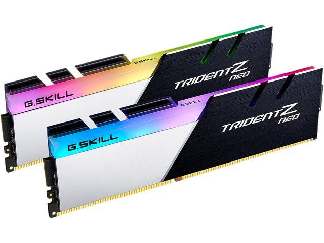 G.SKILL Trident Z Neo Series 64GB (2 x 32GB) 288-Pin DDR4 SDRAM DDR4 3600 (PC4 28800) Intel XMP 2.0 Desktop Memory Model for $274.99 + FS