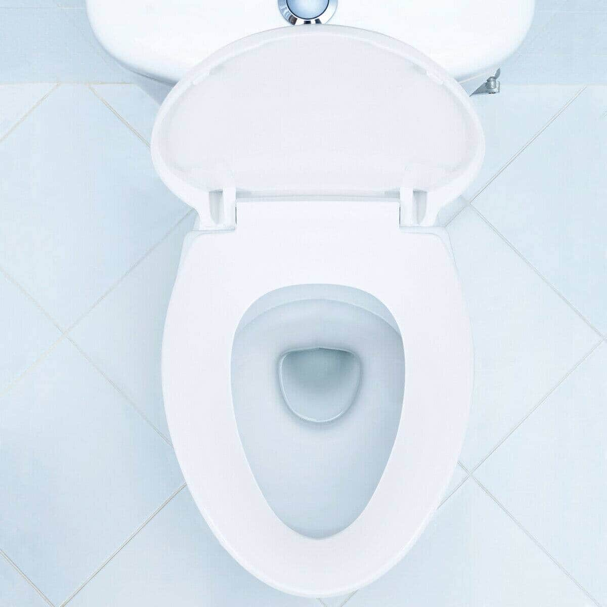 Costway Elongated Slow-Close Toilet Seat with Non-Slip Seat-$25.95 AC + Free Shipping