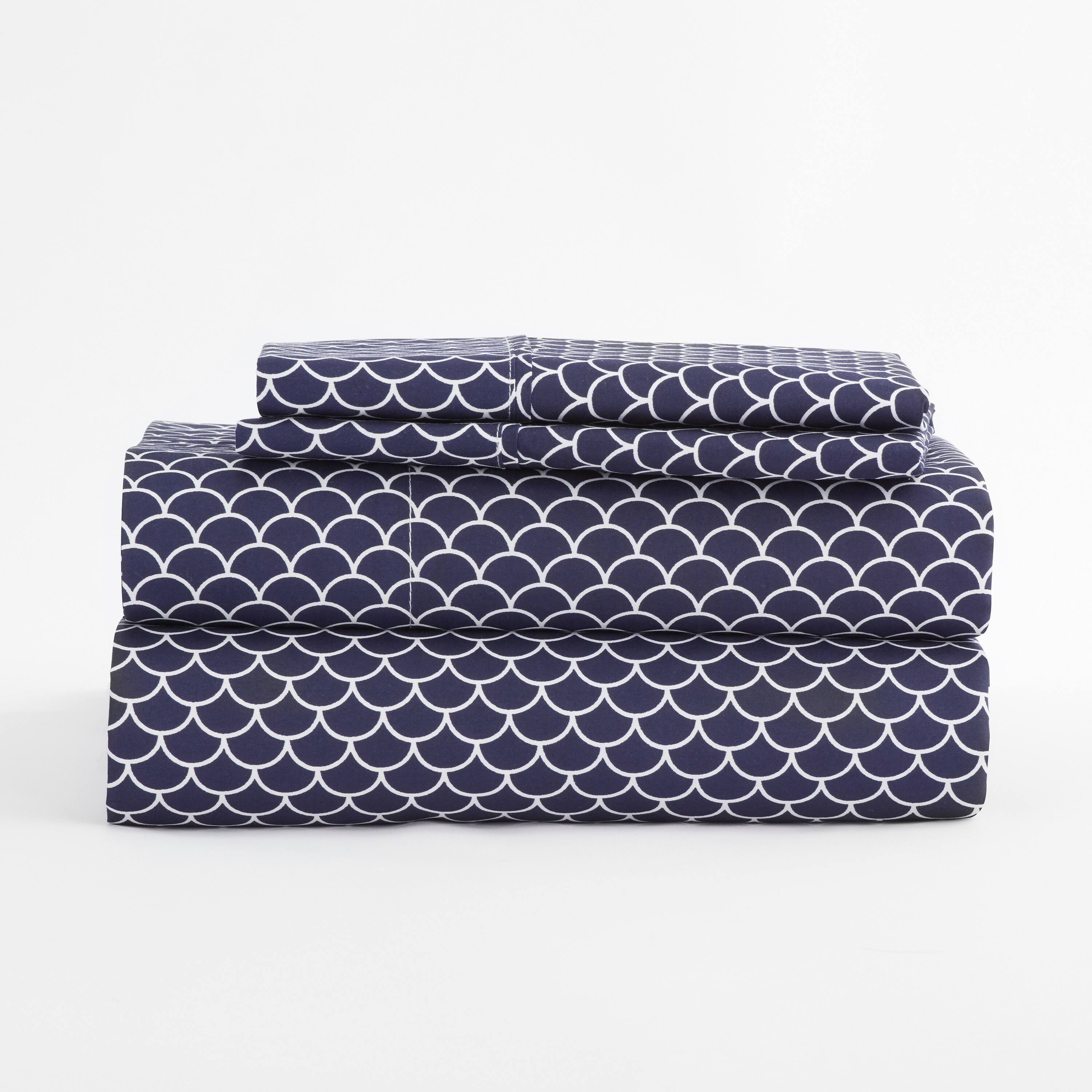 Linens & Hutch Patterned 4-Piece Microfiber Sheet Sets from $22.68 + Free Shipping