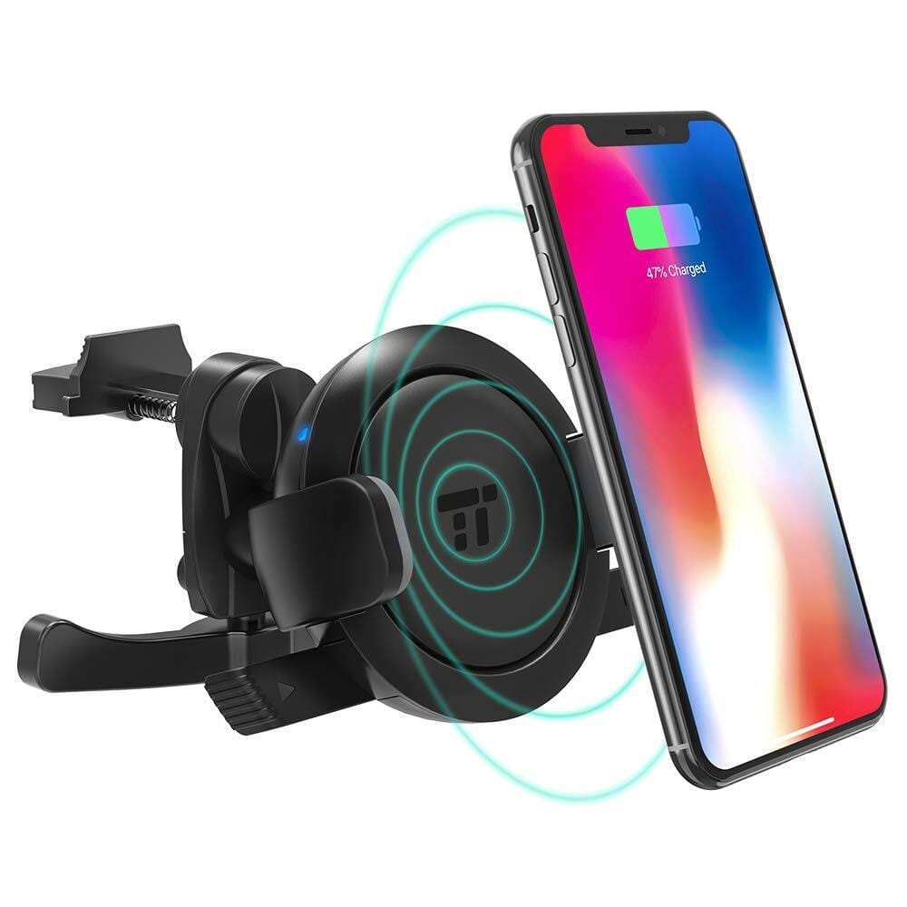 TaoTronics Vent Phone Holder with 5W Wireless Charging for Car $8.99 AC + FSSS