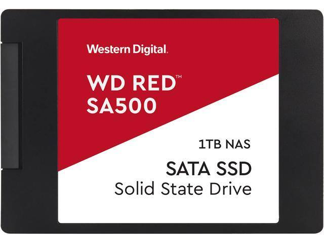 "Western Digital Red SA500 2.5"" 1TB SATA III 3D NAND Internal Solid State Drive (SSD) WDS100T1R0A for $134 AC + FS"