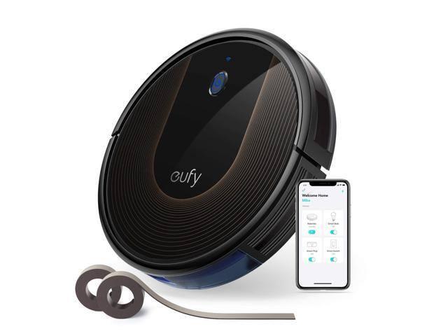 Eufy BoostIQ RoboVac 30C Robot Vacuum Cleaner + Eufy Lumos Smart Bulb 2.0 (White) $189.99 AC