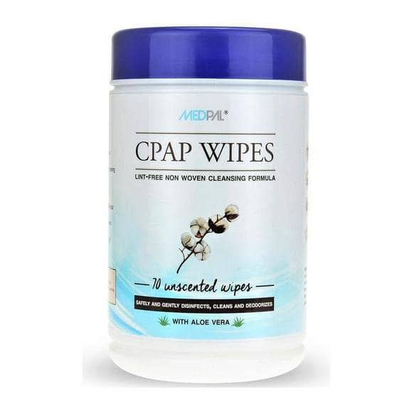 Medpal Unscented Alcohol-Free Disinfecting Cleaning Wipes - 70 Wipes $7.99 + FS