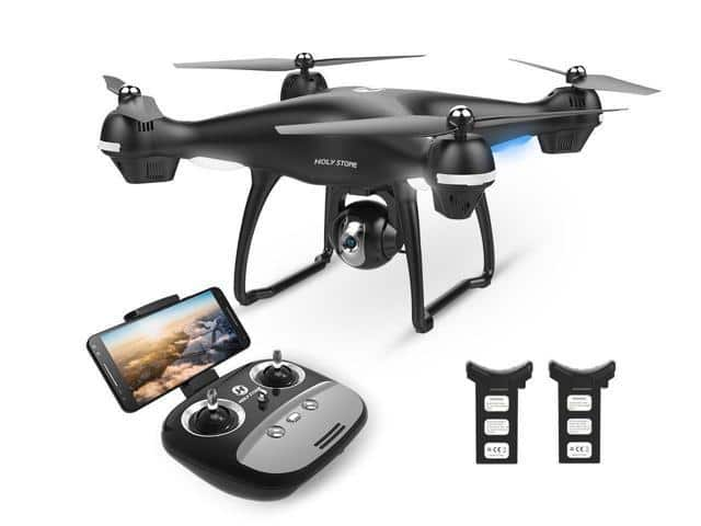 Holy Stone HS100G FPV Drone with 1080P FHD Camera 5G Wifi GPS Quadcopter for $99.99 + FS