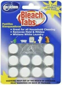 10 Pack Magichem Bleach Tablets for $8.88 + FS
