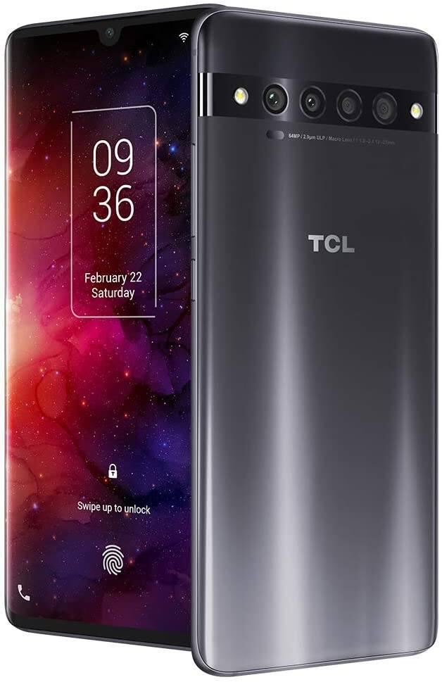 "TCL 10 Pro Unlocked Android Smartphone (6.47"" AMOLED FHD + Display, 64MP Quad Rear Camera System, 128GB+6GB RAM, 4500mAh) for $381.65 + FSSS"