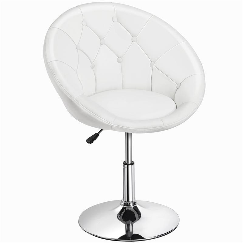 Yaheetech Swivel Tufted Barrel Chair $74.45 + Free Shipping
