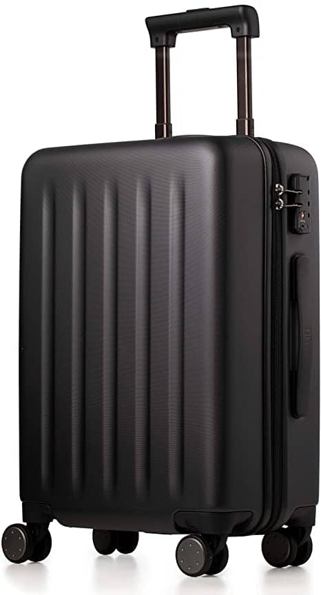 NINETYGO 100% Polycarbonate Hardside Lightweight TSA Compliant Carry On Suitcase w/ Spinner Wheels (20-Inch Black) $59.99 + FSSS