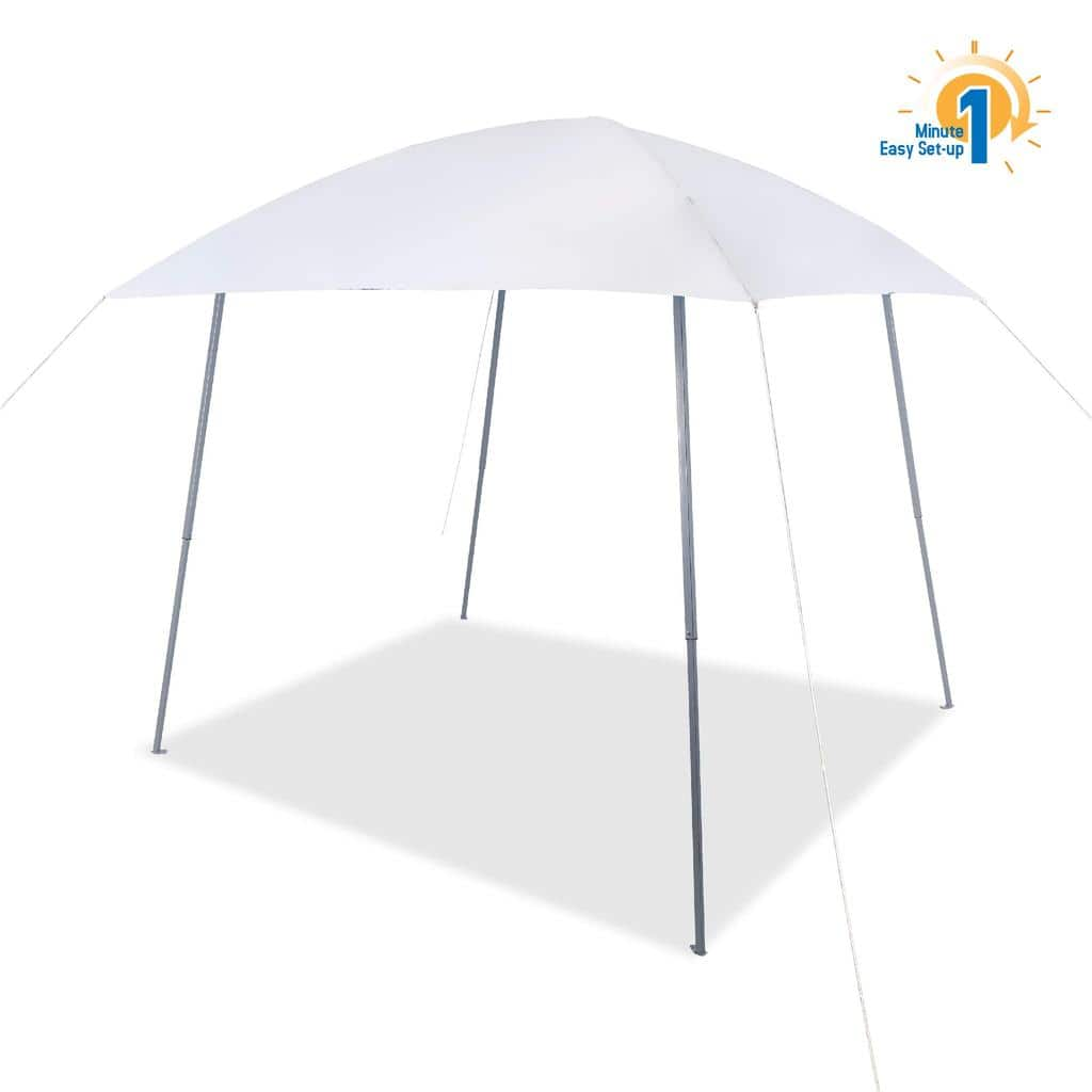 PHI VILLA Portable Beach Sun Shade Pop-up Canopy Tent for $35.99 + FS