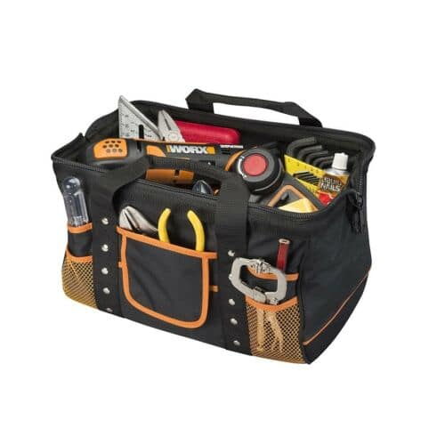 WA0076 WORX Zippered Tool Bag with Interior and Exterior Pockets for $15 + FS