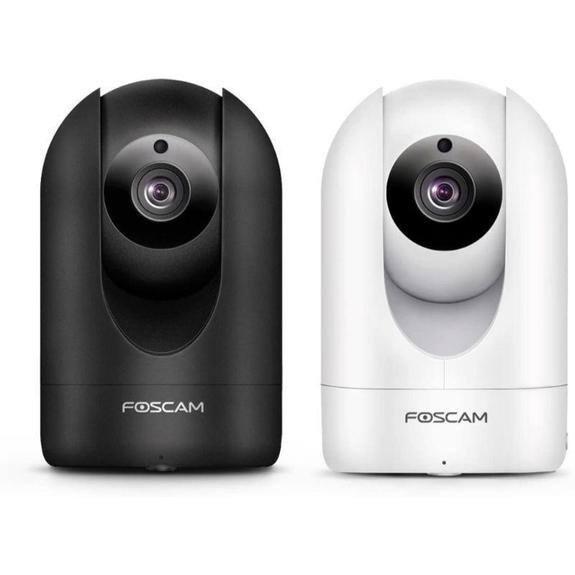 Foscam 4MP/2K Wireless Smart Home Camera, Indoor, 2.4/5GHz WiFi, Works with Alexa (Manufacturer Refurbished) $31.99 + FS