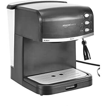 AmazonBasics Espresso Machine and Milk Frother for $55.54 + FSSS
