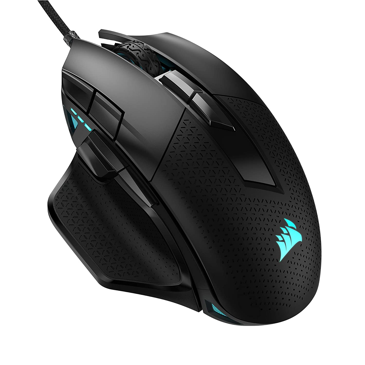 Corsair Nightsword RGB Performance Tunable FPS/MOBA Optical 18000 DPI Gaming Mouse (Black) - $69.99 + FS